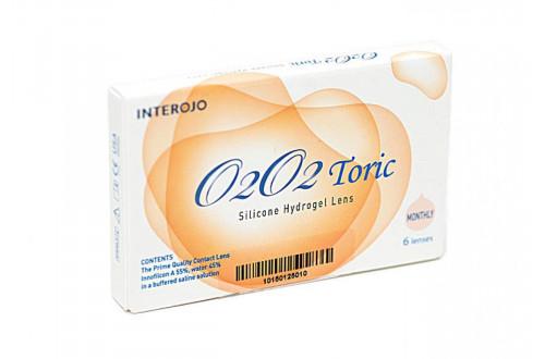 Контактные линзы O2O2 Toric