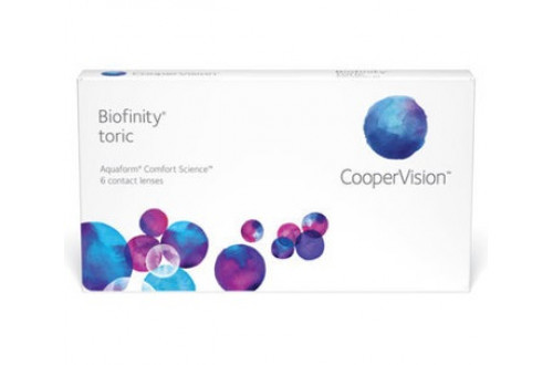 Контактні лінзи Biofinity Toric