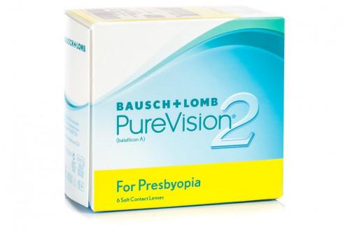 Контактные линзы Pure Vision 2 Multifocal