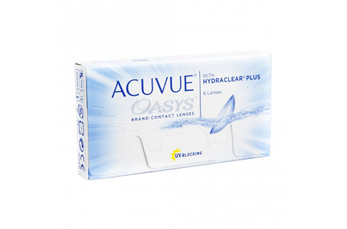 Контактные линзы Johnson&Johnson Acuvue Oasys